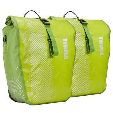 Thule shield pannier or bike bags_green
